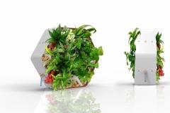 module végétal